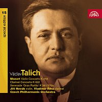 Talich Special Edition 15. Mozart: Koncerty houslový K 218, klarinetový K 622, Serenáda K 361/370a