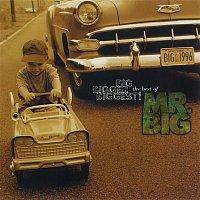 Přední strana obalu CD Big, Bigger, Biggest! The Best Of Mr. Big