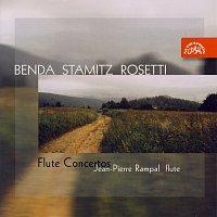 Přední strana obalu CD Benda, Stamitz & Rosetti: Koncerty pro flétnu a orchestr