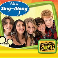 Přední strana obalu CD Disney Singalong - Lemonade Mouth