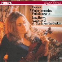 Iona Brown, Academy of St. Martin in the Fields – Telemann: Five Violin Concertos