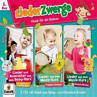 Lena, Felix & die Kita-Kids – 01/3er Box LiederZwerge (Pekip, Musik-Kurs Vol. 1 & Vol. 2)