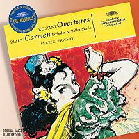 Přední strana obalu CD Rossini: Overtures; Bizet: Carmen-Suite
