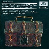 Přední strana obalu CD Mozart, L.: Peasant Wedding; Musical Sleigh-ride; Sinfonia burlesca / Starzer: 10 Dances