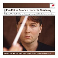 Přední strana obalu CD Esa-Pekka Salonen Conducts Stravinsky