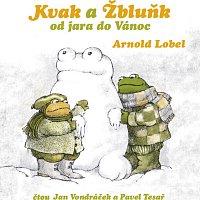 Přední strana obalu CD Lobel: Kvak a Žbluňk od jara do Vánoc