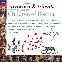 Přední strana obalu CD Pavarotti & Friends Together For The Children Of Bosnia