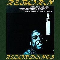 Přední strana obalu CD Willie's Blues (HD Remastered)