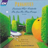 Přední strana obalu CD Prokofiev: Lieutenant Kijé; Cinderella; The Love for Three Oranges