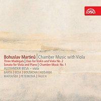 Martinů: Tři madrigaly, Duo č. 1 a 2, Sonáta č. 1, Komorní hudba