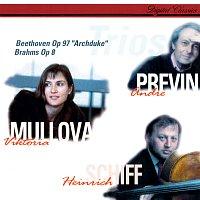 """Viktoria Mullova, Heinrich Schiff, André Previn – Beethoven: Piano Trio No. 7 """"Archduke"""" / Brahms: Piano Trio No. 1"""