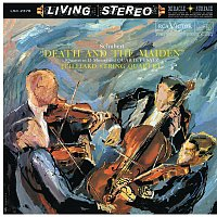 "Juilliard String Quartet, Franz Schubert, Samuel Rhodes, Joel Krosnick, Isidore Cohen, Raphael Hillyer, Claus Adam, Robert Koff – Schubert: String Quartet No. 14 in D Minor, D. 810 ""Death and the Maiden"" & No. 12 in C Minor, D. 703 ""Quartettsatz"""