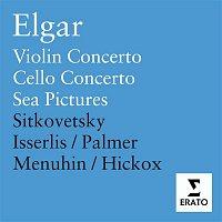 Yehudi Menuhin, Dmitry Sitkovetsky, Richard Hickox, Steven Isserlis – Elgar: Violin concerto Op. 61/Cello concerto Op. 85 etc.