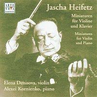 Elena Denisova, Alexei Kornienko – Heifetz: Variations For Violin & Piano