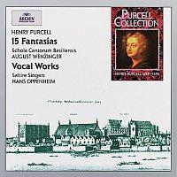 Schola Cantorum Basiliensis, August Wenzinger, Saltire Singers, Hans Oppenheim – Purcell: 15 Fantasias & Vocal Works