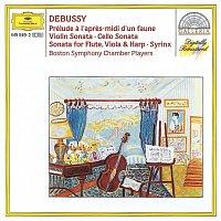 Boston Symphony Chamber Players – Debussy: Prélude a l'apres-midi d'un faune; Violin Sonata; Cello Sonata; Sonata for Flute, Violia & Harp; Syrinx