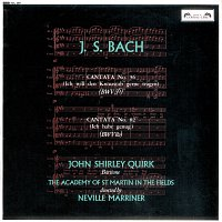 John Shirley-Quirk, Academy of St. Martin in the Fields, Sir Neville Marriner – Bach, J.S.: Cantatas Nos. 56 & 82