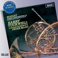 Přední strana obalu CD Mozart: The Horn Concertos