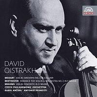 Přední strana obalu CD Mozart, Beethoven & Brahms: Koncerty pro housle a orchestr. Russian Masters