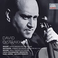David Oistrach – Mozart, Beethoven & Brahms: Koncerty pro housle a orchestr. Russian Masters