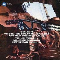 Yehudi Menuhin, Maurice Gendron & Hephzibah Menuhin – Schubert: Piano Trio No. 1, D. 898 & Sonatensatz, D. 28