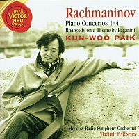 Kun-Woo Paik, Sergei Rachmaninoff, Niccoló Paganini, Vladimir Fedoseyev – Rachmaninov, Sergei: Piano Concerti 1-4 And Rhapsody On A Theme By Paganini