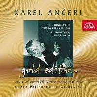 Ančerl Gold Edition 30. Hindemith: Koncert pro housle a orch., Koncert pro violoncello a orch. - Bořkovec: Koncert pro klavír a orch.
