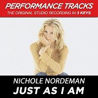 Nichole Nordeman – Just As I Am (Performance Tracks) - EP
