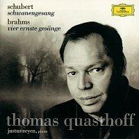 Přední strana obalu CD Schubert: Schwanengesang D957 / Brahms: Vier ernste Gesange, Op.121