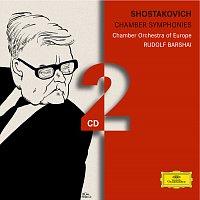 Přední strana obalu CD Shostakovich: Chamber Symphonies