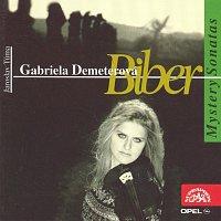 Přední strana obalu CD Biber : Biblické sonáty