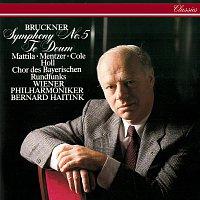 Přední strana obalu CD Bruckner: Symphony No. 5; Te Deum