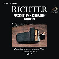 Sviatoslav Richter – Sviatoslav Richter Plays Prokofiev, Debussy and Chopin - Live at Mosque Theatre (December 28, 1960)