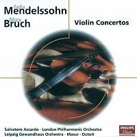 Salvatore Accardo, Gewandhausorchester Leipzig, Kurt Masur, Charles Dutoit – Mendelssohn: Violin Concerto/Bruch: Violin Concerto; Konzertstuck