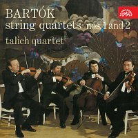 Přední strana obalu CD Bartók: Smyčcové kvartety