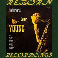 Přední strana obalu CD The Immortal Lester Young, Vol. I (HD Remastered)
