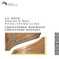 Christophe Rousset, Christopher Hogwood – Bach, J.S., W.F., C.P.E & J.C.: Works for Two Harpsichords