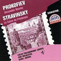 Český pěvecký sbor, Česká filharmonie, Karel Ančerl – Prokofjev, Stravinskij: Alexandr Něvský - Svěcení jara