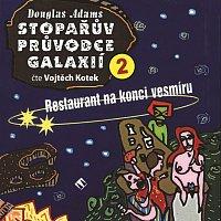 Přední strana obalu CD Adams, D. Stopařův průvodce galaxií 2: Restaurant na konci vesmíru