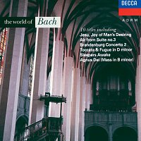 Přední strana obalu CD The World of Bach