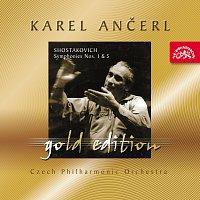 Přední strana obalu CD Ančerl Gold Edition 39. Šostakovič: Symfonie č. 1 a 5