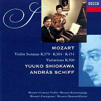 """Yuuko Shiokawa, András Schiff – Mozart: Violin Sonatas Nos. 21, 27 & 32; Six Variations on """"Hélas, j'ai perdu mon amant"""""""