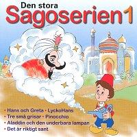 Přední strana obalu CD Den stora sagoserien 1