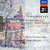 Přední strana obalu CD Tchaikovsky: Symphonies Nos. 4-6; Hamlet Overture
