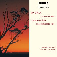 Christine Walevska, London Philharmonic Orchestra, Sir Alexander Gibson – Dvorak: Cello Concerto / Saint-Saens: Cello Concerto No.1
