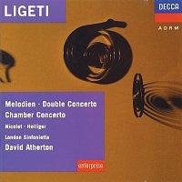 Aurele Nicolet, Heinz Holliger, London Sinfonietta, David Atherton – Ligeti: Melodien; Double Concerto; Chamber Concerto etc.