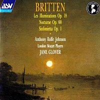 Přední strana obalu CD Britten: Les Illuminations; Sinfonietta; Nocturne