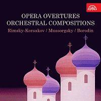 Různí interpreti – Předehry oper, orchestrální skladby (Rimskij-Korsakov, Musorgskij, Borodin...).
