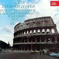 Přední strana obalu CD Scény z italských oper II.