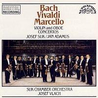 Přední strana obalu CD Bach, Vivaldi, Marcello: Houslové a hobojové koncerty